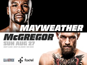 Mayweather v McGregor Boxing Superfight @ Diggers Bar | Tewantin | Queensland | Australia