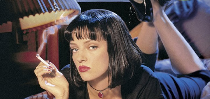 """Plakat von """"Pulp Fiction"""""""