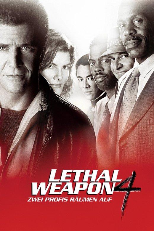 """Plakat von """"Lethal Weapon 4 - Zwei Profis räumen auf"""""""