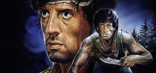 """Plakat von """"Rambo"""""""