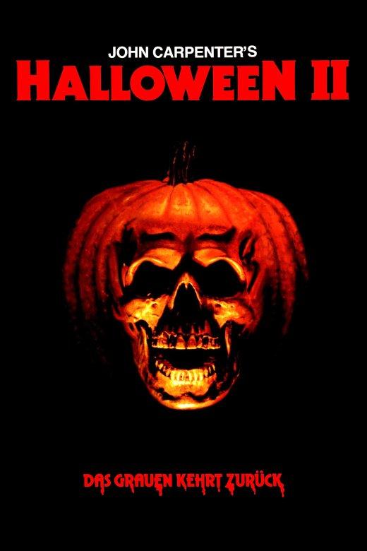 """Plakat von """"Halloween II - Das Grauen kehrt zurück"""""""