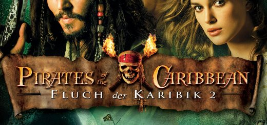 """Plakat von """"Pirates of the Caribbean - Fluch der Karibik 2"""""""