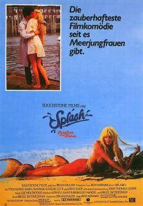 """Plakat von """"Splash - Eine Jungfrau am Haken"""""""