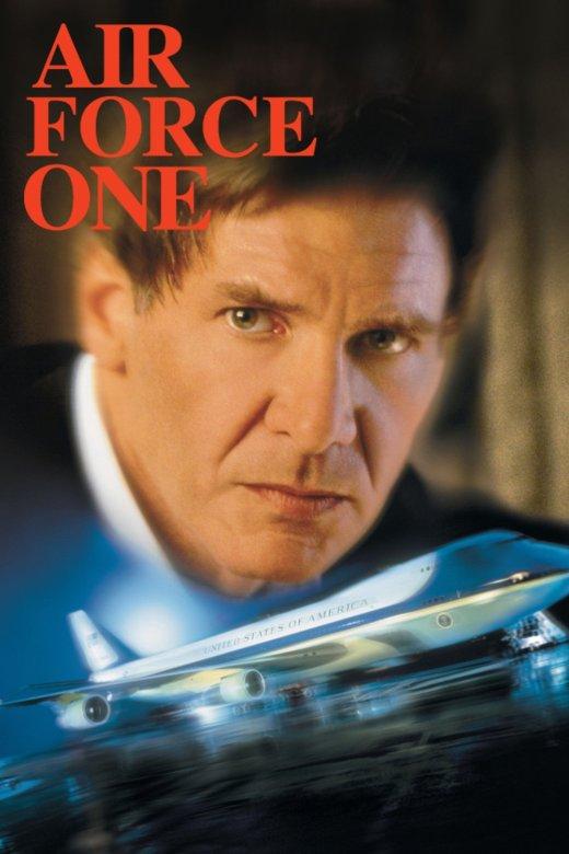 """Plakat von """"Air Force One"""""""