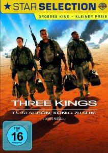 """Plakat von """"Three Kings - Es ist schön König zu sein"""""""