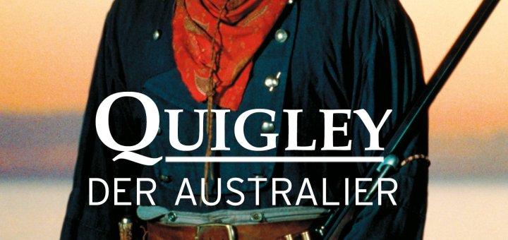 """Plakat von """"Quigley, der Australier"""""""