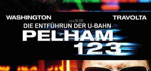 """Plakat von """"Die Entführung der U-Bahn Pelham 123"""""""