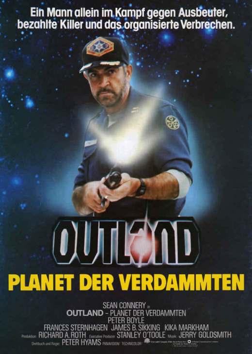 """Plakat von """"Outland – Planet der Verdammten"""""""