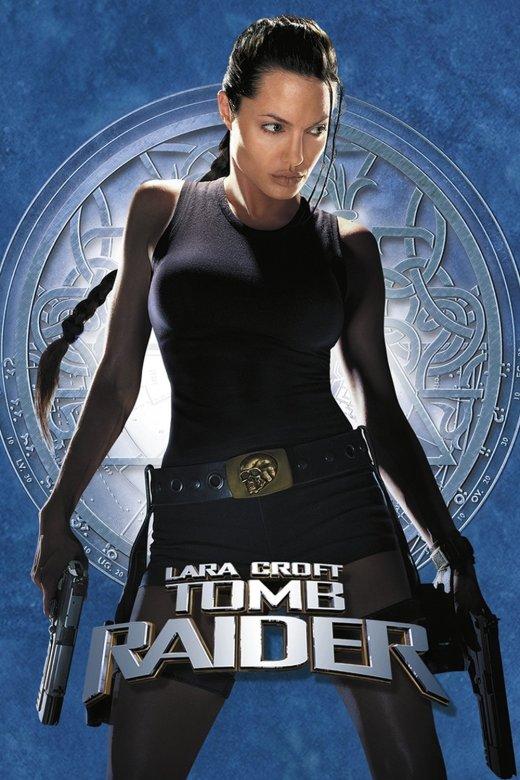 """Plakat von """"Lara Croft: Tomb Raider"""""""