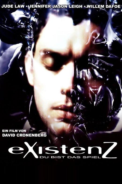 """Plakat von """"eXistenZ - Du bist das Spiel"""""""