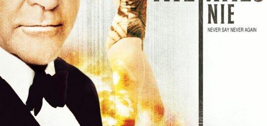 """Plakat von """"James Bond 007 - Sag niemals nie"""""""