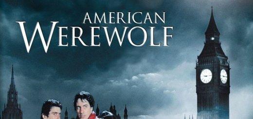 """Plakat von """"American Werewolf"""""""
