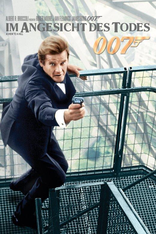 """Plakat von """"James Bond 007 - Im Angesicht des Todes"""""""