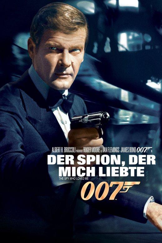 """Plakat von """"James Bond 007 - Der Spion, der mich liebte"""""""