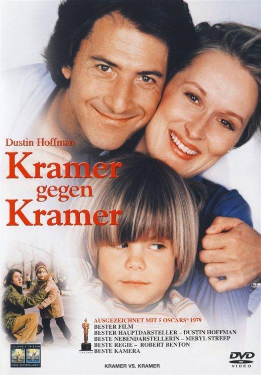 """Plakat von """"Kramer gegen Kramer"""""""