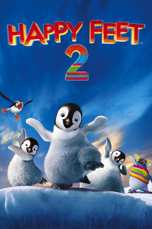 "Plakat von ""Happy Feet 2"""