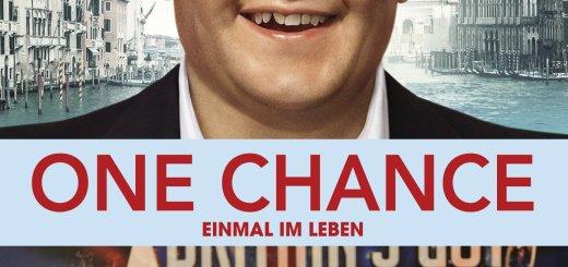 """Plakat von """"One Chance - Einmal im Leben"""""""