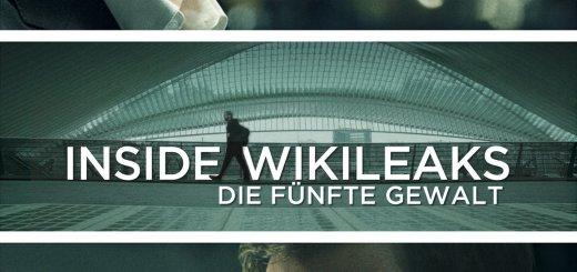 """Plakat von """"Inside WikiLeaks - Die fünfte Gewalt"""""""