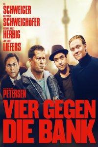 """Plakat von """"Vier gegen die Bank"""""""