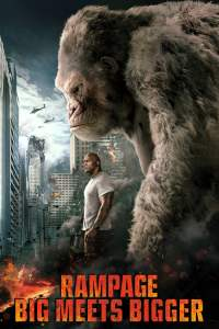 "Plakat von ""Rampage - Big meets Bigger"""