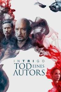 """Plakat von """"Intrigo - Tod eines Autors"""""""