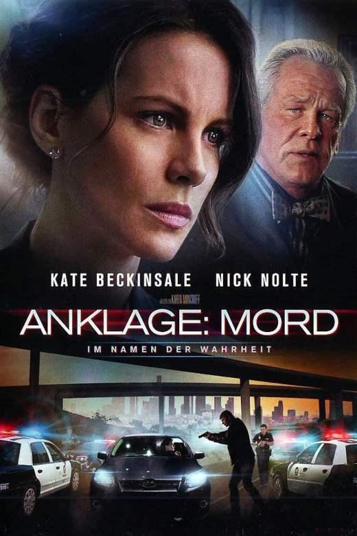 """Plakat von """"Anklage: Mord - Im Namen der Wahrheit"""""""
