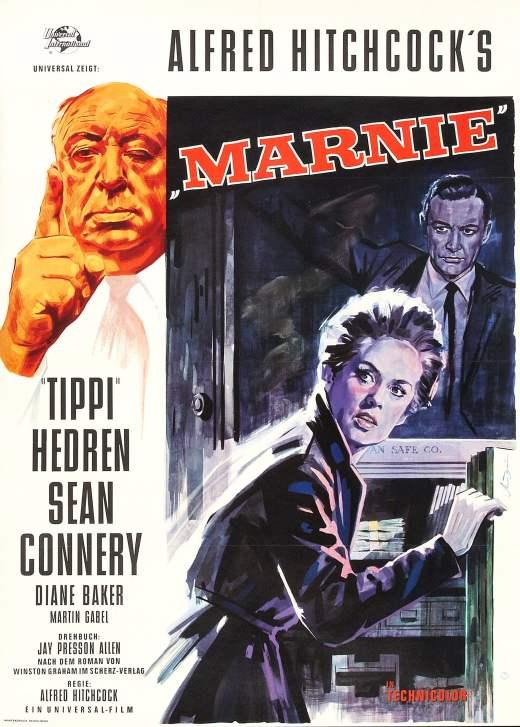 """Plakat von """"Marnie"""""""