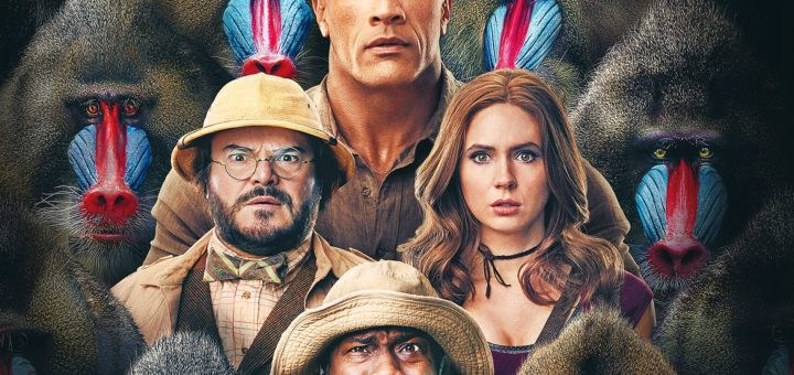 "Plakat von ""Jumanji: The Next Level"""