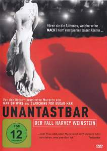 "Plakat von ""Unantastbar - Der Fall Harvey Weinstein"""