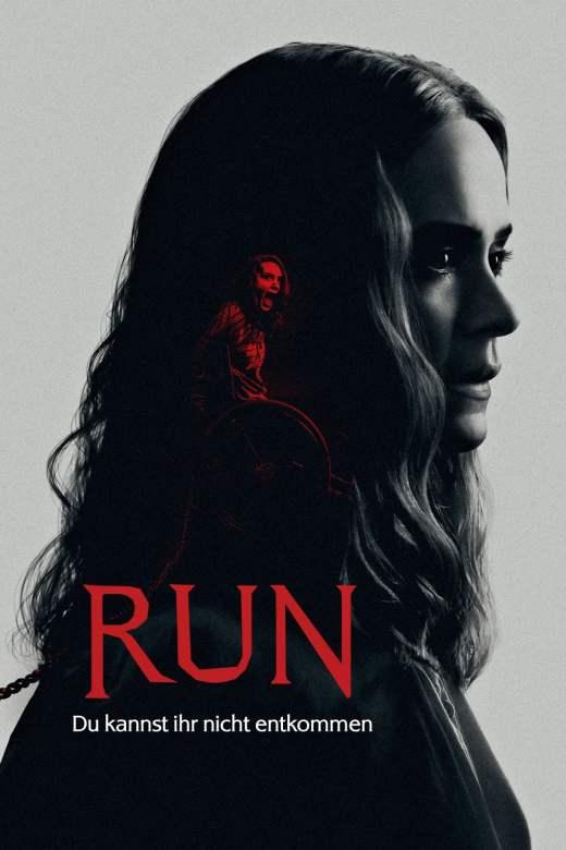 """Plakat von """"Run - Du kannst ihr nicht entkommen"""""""
