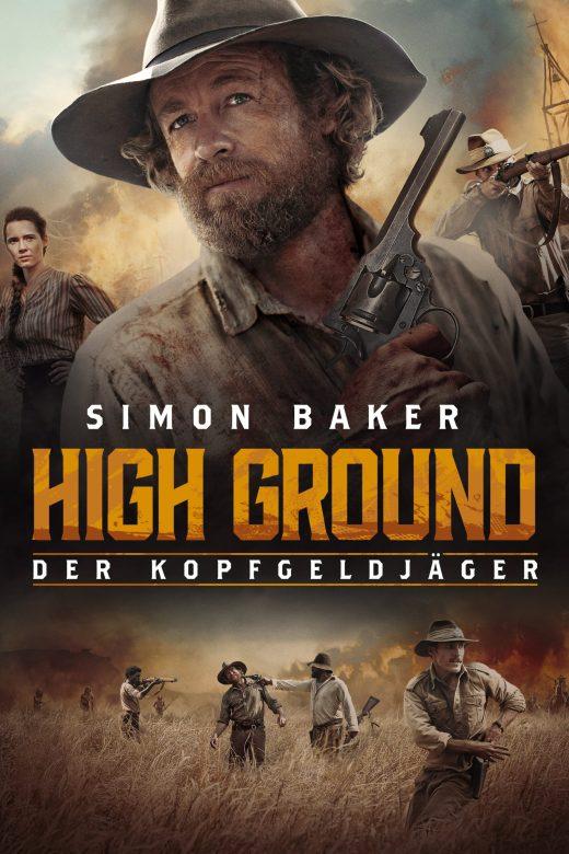 """Plakat von """"High Ground - Der Kopfgeldjäger"""""""