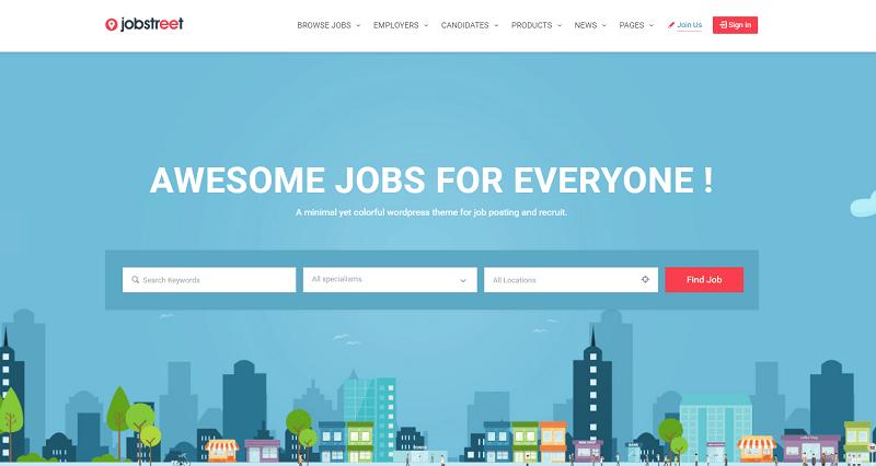 ob Board WordPress Theme