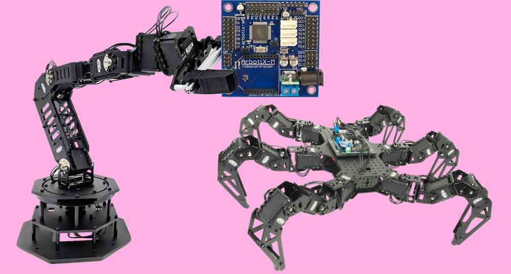 arbotix dynamixel servo with arduino