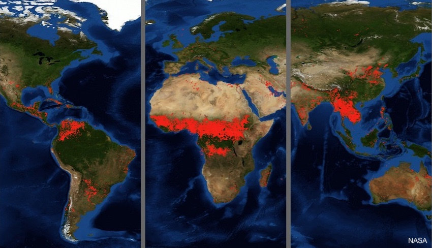 How to Stop the Global Wildfires Epidemic?