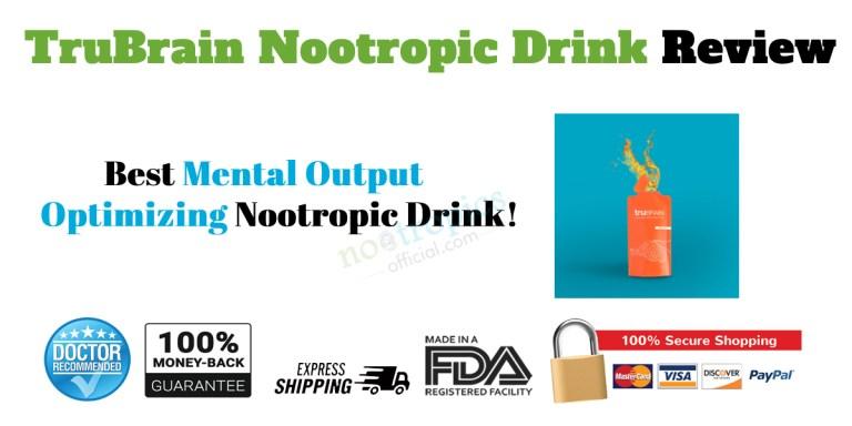 TruBrain Nootropic Drinks Review