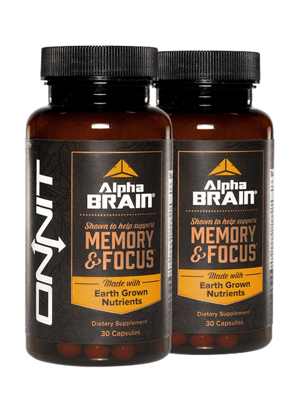Alpha Brain Nootropic Pills