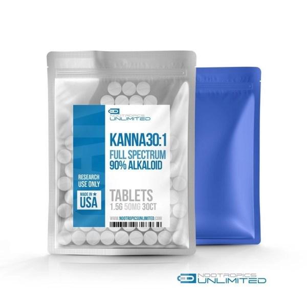 Kanna 30:1 Full Spectrum Tablets