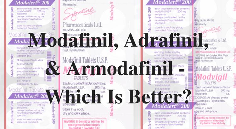 adrafinil modafinil