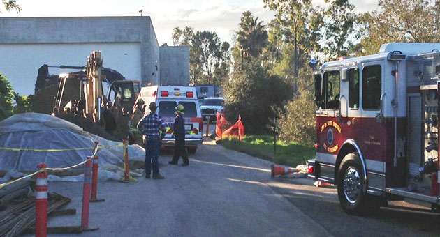 Firefighters And Paramedics Respond Tuesday Morning To A