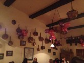Dinner decorations at Restaurante C.K. Dezerter
