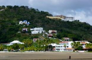 The southern bay and hillside at San Juan del Sur
