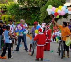 A barrio fiesta at Christmas - Granada