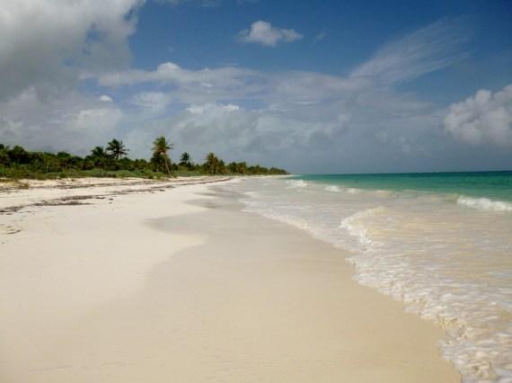 Sian Kaan deserted island