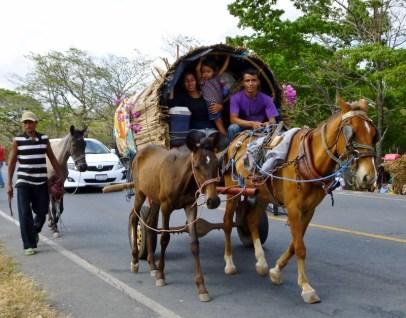 Easter Pilgrims to Popoyuapa - near Rivas,Nicaragua