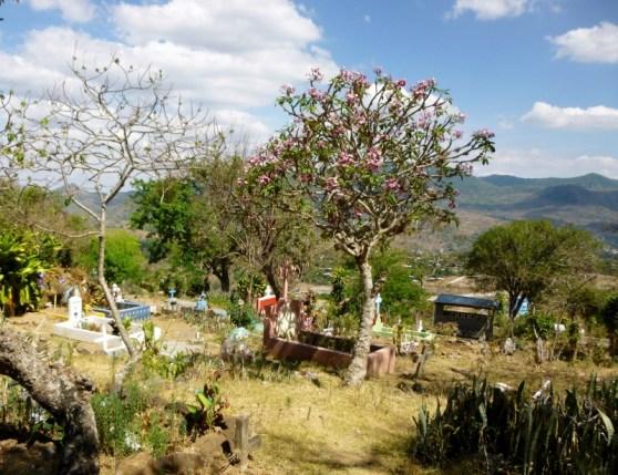 Cemetery near Matagalpa