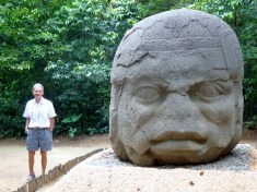 The Old Warrier - Olmec Statuary - Villahermosa, Tabasco