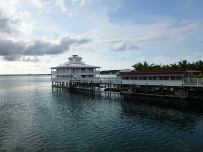 guardian of the inlet on the island - Utila
