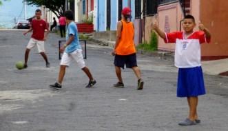 Pick-up game of futbol - Granada, Nicaragua