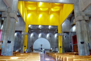 New Cathedral - toal utilitarian but strangely beautiful! Managua