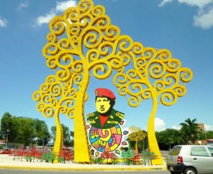 psychedelic Hugo Chavez lives in our memories! Managua